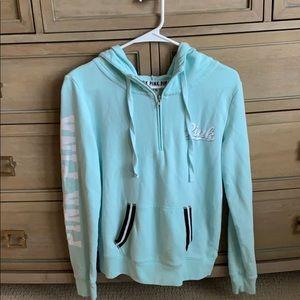 PINK quarter zip up jacket